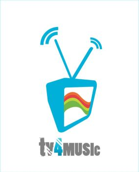 TV4MUSIC_logo and logotype by helenik