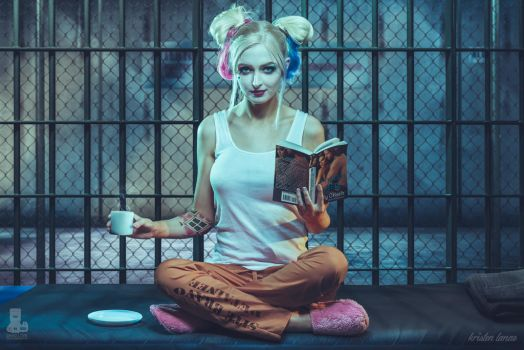 Harley Quinn Cell by truefd