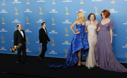 Three Tall actresses at 2010 Emmy Awards by lowerrider