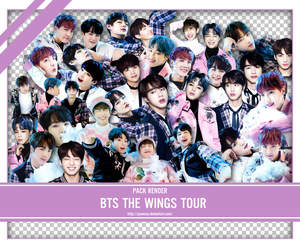 SHARE RENDER BTS WINGS TOUR by yooncua