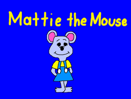 Mattie the Mouse from Reader Rabbit CD-Rom Games by MikeJEddyNSGamer89