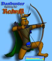 Danbuster fighting for Redwall by DCLeadboot
