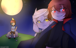 Halloween with UT bois by MakaUT