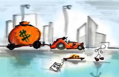 the RICH and the POOR by Aesthari