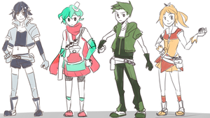 AS: pokemoncrossoverpooping batch 1 by Hama-S