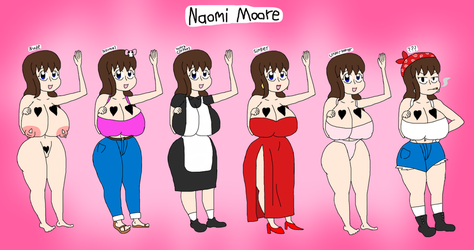 Naomi Moore Refs (OLD) by Girkirby