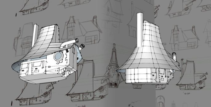 Mechanical House part 2 - Project of the week #1 by lepetitgroin