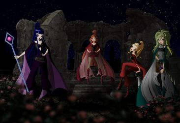 Witches by Bloom2