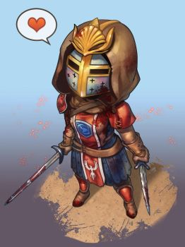 Chibi PeaceKeeper by ptcrow