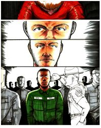 B.Y.O.B. A graphic Novel Class Project pg. 3 by KRONOMATIK