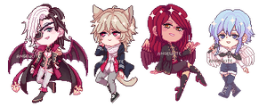 pixel batch #4 by AngelKite