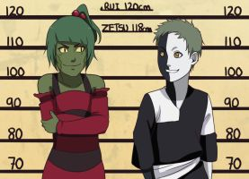 CM: Rui and Zetsu Height Chart by Chloeeh
