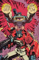 Transformers 56 cover by dcjosh