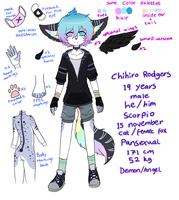 Chihiro Rodgers reference sheet 2017 by uketoy