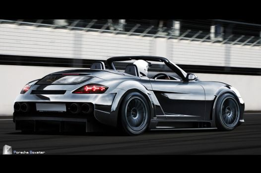 Porsche Boxster Supercar eater by CptDesign