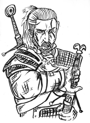 Geralt of Rivia by chaosking48