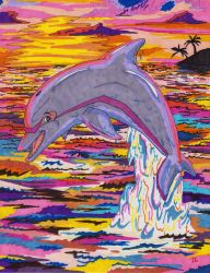 Dolphin Leap by Frodo-Lion