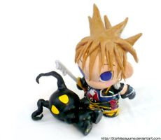 Sora and the Heartless by StarMasayume