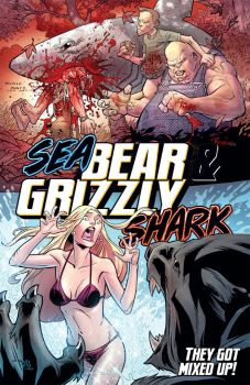 NEW Bear and Shark cover by RyanOttley