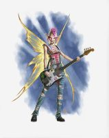 Tinker bell gos punk by BryanSyme