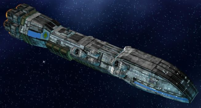 Dreadnaught-Class Heavy Cruiser by StarToursTraveler
