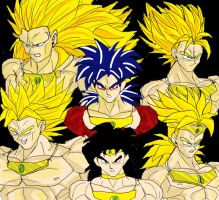 Broly Collage by dskemmanuel