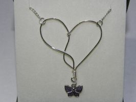 Infinite Heart Necklace by Pandannabelle