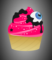 I See a Cupcake by wildgica