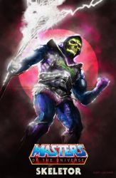 Skeletor - (toyline) by flavioluccisano