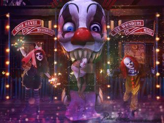 Twisty the Clown by Renata-s-art