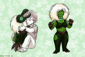 Fluffy Centipeetle by ErinPtah