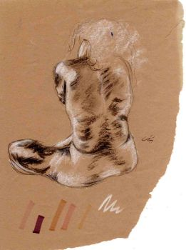 life drawing charcoal by meep-buster