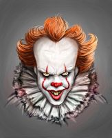 Pennywise the dancing clown by ReddNekk