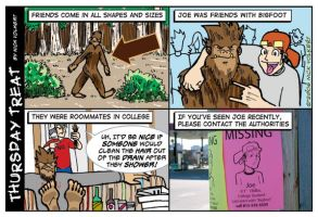 Bigfoot, the college roomie by nickv47