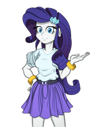EQUESTRIA GIRLS: TSCOB64 - Rarity (Promo Pose) by PedantCzepialski