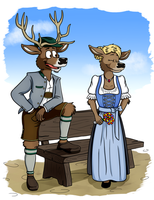 Bavarian Clothing by Faehnrich