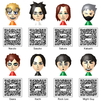 Naruto Mii Collection 2nd Take by theST1NG