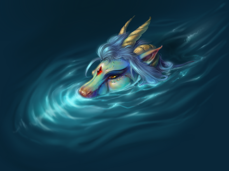 Water Drake by AuldBlue