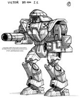 MechWarrior 4 Victor Front by Mecha-Zone