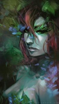 Poison Ivy by aditya777