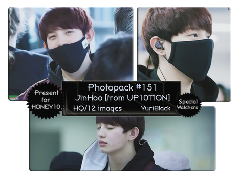 Photopack #151 - JinHoo [from UP10TION] by YuriBlack