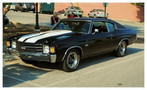 Sharp Black SS Chevelle by TheMan268