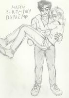 Ash and Tex for Dani! by Ynnep