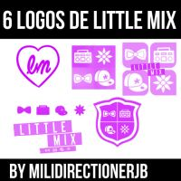 Little Mix Logos Brushes by MiliDirectionerJB