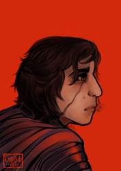 TLJ - Kylo Ren by Cootsik