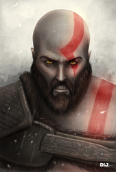 Kratos by Dij-Art