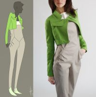 jacket and jumpsuit by anti-pizza
