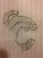 Hand I drew by Mrbacon360