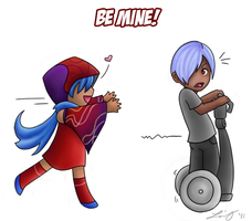 Be Mine by FlykyrSkysong