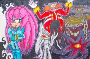 Sky's Demons (Coloured) by Sky-The-Echidna